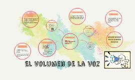 El Volumen de la voz