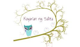 Copy of Kayarian ng Salita