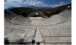 Greek theatre views