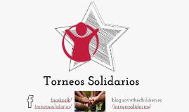 Copy of Proyecto Torneos Solidarios