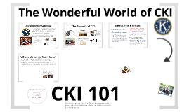 Copy of Copy of Copy of CKI 101