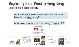 Exploring Halal Food in Hong Kong