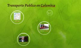 Transporte Publico en Colombia
