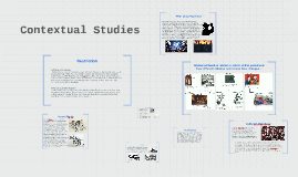 Copy of Contextual Studies