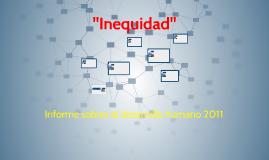 """""""Inequidad"""""""