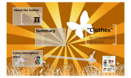 "Copy of Copy of ""Clothes"" by Chitra Banerjee Divakaruni"