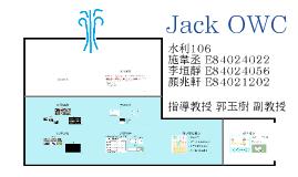 Ocean Energy-Jack OWC