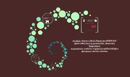 Analisis  Norma Oficial Mexicana NOM-014-SSA2-1994, Para la