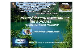 Natura și echilibrul său în România!