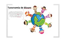 Copy of Taxonomía de Bloom