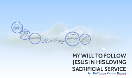 Copy of MY WILL TO FOLLOW JESUS IN HIS LOVING SACRIFICIAL SERVICE