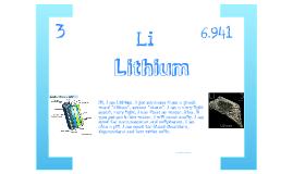 Lithium- Jacqueline Echiverri