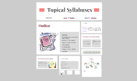 Copy of Topical Syllabuses