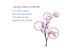 Latvijas dabas rezervāti