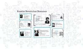 Russian Revolution Romance