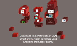 Design and implementation  GSM Smart Enegy Meter  to Reduce