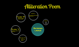 Alliteration Poem