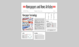 Newspapers and News Articles
