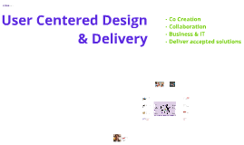 User Centered Design & Delivery (Ciber)
