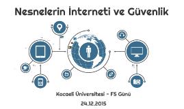 IoT ve Guvenlik - F5 Günü - Kocaeli Universitesi