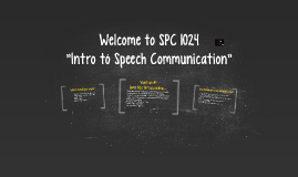 Welcome to SPC 1024