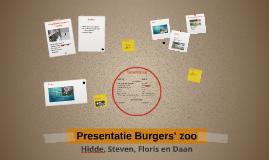 Presentatie Burgers' zoo