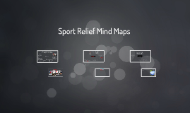 Sports Relief Mind Maps