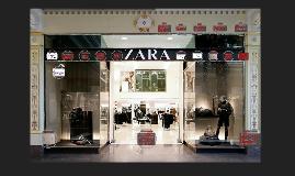 A Zara é uma rede de lojas de roupa espanhola fundada em 197