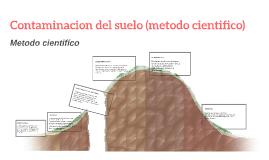 Copy of Contaminacion del suelo (metodo cientifico)