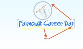 Fairmount Career Day!