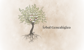 Copy of Árbol genealógico