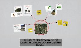 Copy of RIERA DE SANT CLIMENT