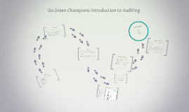 Green Champ' Auditing Training