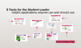 9 Tools for the Student Leader