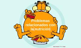 Problemas relacionados con la nutrición