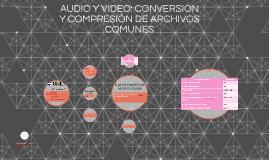 AUDIO Y VIDEO: CONVERSION Y COMPESIÓN DE ARCHIVOS COMUNES