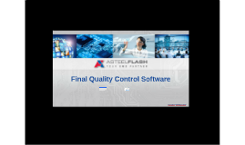 Final Quality Control Application