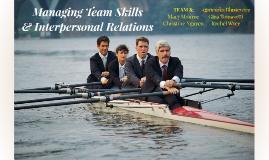 Managing Team Skills