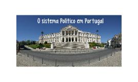 O sistema Político em Portugal