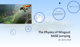 The Physics of BASE jumping