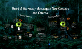 Copy of Heart of Darkness/ Apocalypse Now Comapre and Contrast