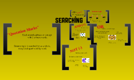Copy of Copy of Searching