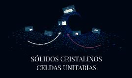 SÓLIDOS CRISTALINOS