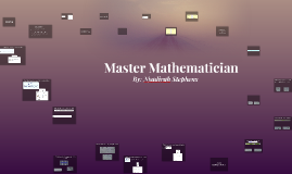 Master Mathematician