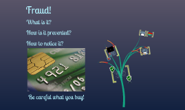 Fraud...