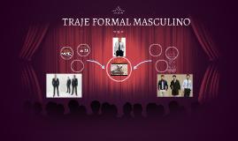 TRAJE FORMAL MASCULINO