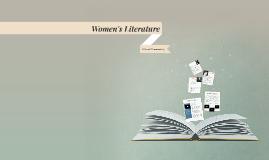 Copy of Women's Literature