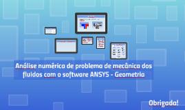 Análise numérica de problema de mecânica dos fluidos com o s
