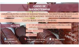 CURSO DE MADEROTERAPIA