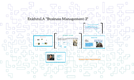 "Enkhzul.A ""Business Management-3"""